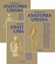 Anatomia umana Trattato vol. 1-3 Giuseppe Anastasi Silvano Capitani Mari