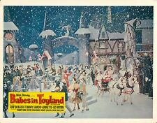 Babes En Toyland Original Lobby Carte Annette Funicello Hiver Scène Walt Disney