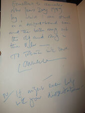 Book Hollywood 1940's Signed by Laurence Olivier 1989 New Years Day Inscription