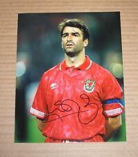 KEVIN RATCLIFFE Hand Signed Autograph WALES 10x8 Photo Everton Memorabilia + COA