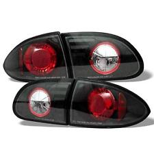 Pair Altezza Euro Tail Lights Lamps Chevy Cavalier 95-02 Black 1 Year Warranty