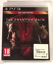 METAL GEAR SOLID V THE PHANTOM PAIN Neuf sous blister Jeu PS3