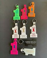 9 Vintage #1 Keychains from Montana  - Lot 112