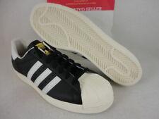 Adidas Superstar 80's, Black1 / White / Chalk2, Gold, Vintage, G61069, Size 11