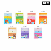 BTS BT21 Official Authentic Goods Letter Ver2 7SET by Kumhong Fancy