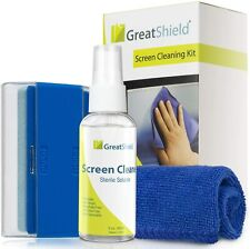 GreatShield LCD Screen Cleaning Kit with Microfiber Cloth, Cleaning Brush and No
