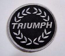 """TRIUMPH Cars Laurel Iron-On British Automotive Car Patch 3"""" Spitfire TR6 TR7"""