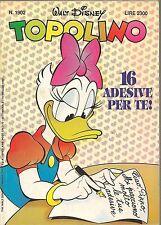 TOPOLINO N° 1902 - 10 MAGGIO 1992
