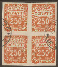 Used Postage Due Czech & Czechoslovakian Stamps