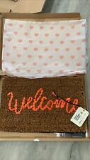 Banksy Welcome Mat Love Welcomes Refuge Gross Domestic Product GDP Banksquiat