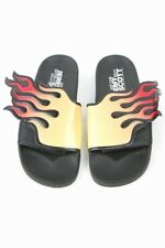 Jeremy Scott Adidas Flames/Fire Slides US size 9 (Fits like a 8)