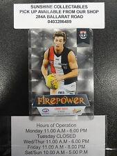 2013 AFL CHAMPIONS FIREPOWER MIRROR FM15 LENNY HAYES ST KILDA