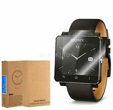 2 X 100% Tempered Glass Screen Protector for Sony SmartWatch 2 SW2