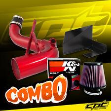 11-14 Optima Turbo 2.0L 4cyl Red Cold Air Intake + K&N Air Filter