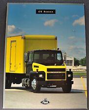 1998 Mack Truck CS Series Catalog Sales Brochure Excellent Original 98