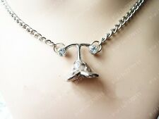 Final Fantasy FF10 Yuna Anime Flower Pendant Cosplay Alloy Necklace