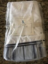 "Pottery Barn Chase Bed Skirt Juponnage Crib 11"" Drop"