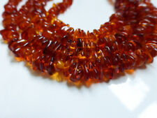Natural Golden Baltic Amber Chip Beads 15 Inch Strand 5mm-12mm Semiprecious