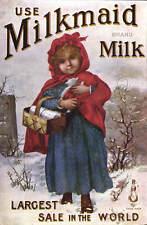 Advertising. Milkmaid Milk in Tuck Celebrated Poster Series 1511.