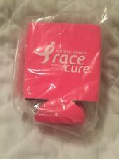 Pack OF 6 Susan G. Komen Race For The Cure Can Cooler Koozie (Pink)