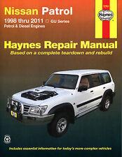 Reparaturhandbuch Nissan Patrol 98-14 NEU!