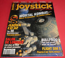 Magazine Joystick [n°42 Oct 93] Amiga CD 32 Atari ST PC Mortal Kombat *JRF