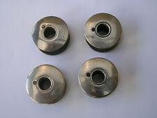 4 ORIGINAL VINTAGE 201K Singer sewing machine bobine in metallo adatta anche 401K/411K