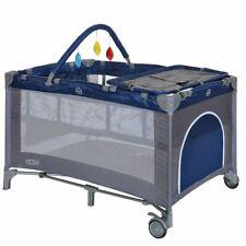 B-ware Kinder Reisebett Klappbett mit Faltmatratze blau