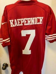 Colin Kaepernick Nike On Field Red Medium Adult Jersey Free Shipping