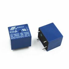 1pcs Mini 5V DC SONGLE Power Relay SRD-5VDC-SL-C PCB Type CA NEW