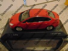 Minichamps Opel Astra Red 2012 1:43 410042001