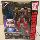 Transformers: Titans Return Voyager BLUNDERBUSS & BROADSIDE   NIB   US SELLER!!