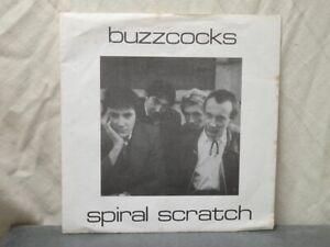 """Buzzcocks:   Spiral Scratch   UK   1977  A1/B1 FIRST PRESSING  EX    7"""""""