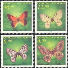 Kazakhstan 1996 Butterflies/Insects/Nature/Conservation/Butterfly 4v set (b2043)