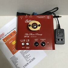 Bellari VP130 Tube Phono Preamp Ruby 12AX7AC5 Tube Rolls
