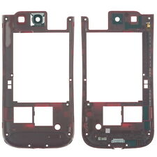 Samsung Galaxy S3 i9300 Mittelgehäuse Cover Rahmen Kamera Glas, rot