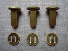 German WWII WW2 helmet split-pins brass