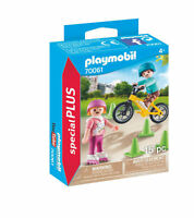 70061 Playmobil Special Plus Children with Bike & Skates Figure & Accessory Set
