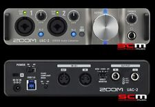 USB 3.0 SUPERSPEED AUDIO INTERFACE ZOOM UAC-2 MAC & PC RECORDING with CUBASE LE7