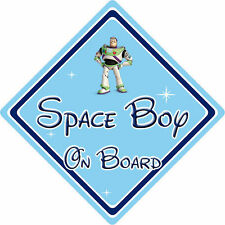 Disney Space Boy On Board Car Sign – Baby On Board – Toy Story Buzz Lightyear