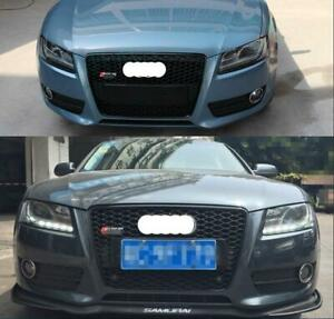 For Audi A5/S5 B8 RS5 Style 2008-2012 Front Grille Upper Honeycomb Mesh Grill