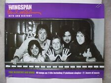 Paul McCartney & Wings two-sided promo poster 'Wingspan' 2001 The Beatles MPL
