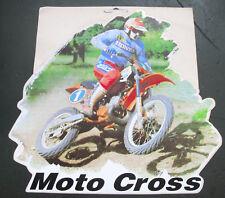 Motorrad Aufkleber Sticker Motocross  XL