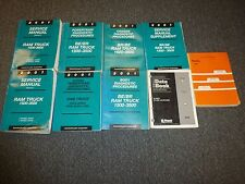 2001 Dodge Ram Truck 3500 Shop Service Repair Manual Set Diesel SLT 5.9L