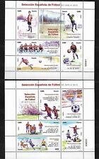 """ESPAÑA  4665/66 HB. """""""" SELECCION ESPAÑOLA DE FUTBOL 1900-2010 """"""""  . NUEVOS"""
