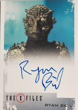 X-Files Seasons 10 & 11 Ryan Beil as the Were-Lizard Autograph