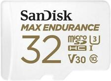 SanDisk Max Endurance MicroSD Card 100MBs with Adapter 32GB SDSQQVR-032G-GN6IA