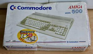 Amiga 500 Original Verpackungen, 2 x OVP, gebraucht