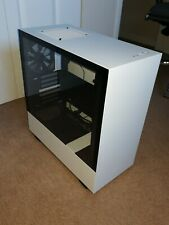 Nzxt H510 Compact Mid-tower Atx Computer Case, Matte White, USB 3.1 Type A + C