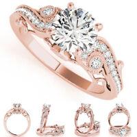 EG_ Women's Fashion Hollow Zircons Wedding Engagement Ring Finger Jewelry Cheap